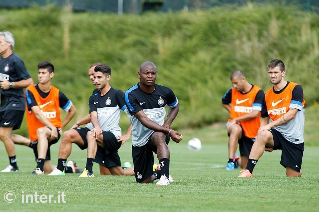PHOTOGALLERY - L'Inter prepara la trasferta di Spalato. E in campo si rivede...