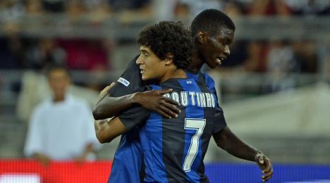 A Bari brillano le stelle di Mbaye e Coutinho