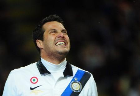 Julio Cesar e l'Inter ai titoli di coda