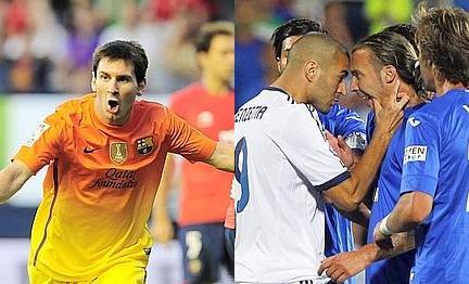 VIDEO - Liga: Messi rimonta l'Osasuna e il Barça vola a +5 sul Real Madrid, sconfitto dal Getafe