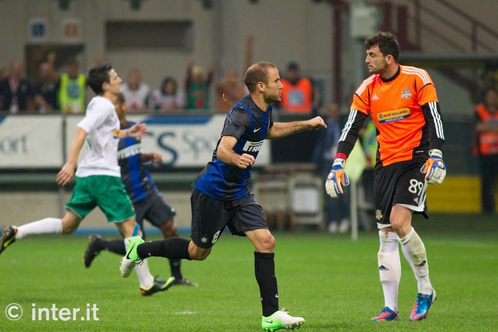 Anche nella notte di Julio Cesar, è sempre <i>Pazza</i> Inter