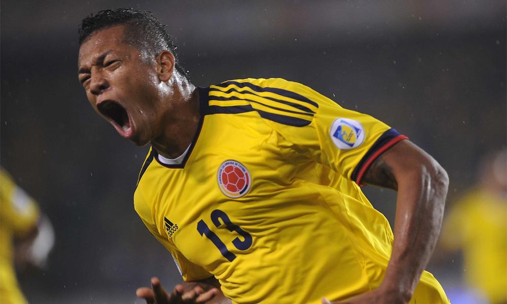 Nazionali: Guarin torna titolare nella Colombia. Brutta sconfitta per l'Uruguay di Gargano e Pereira