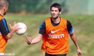 Inter allenamento 17 settembre 2012 - Chivu