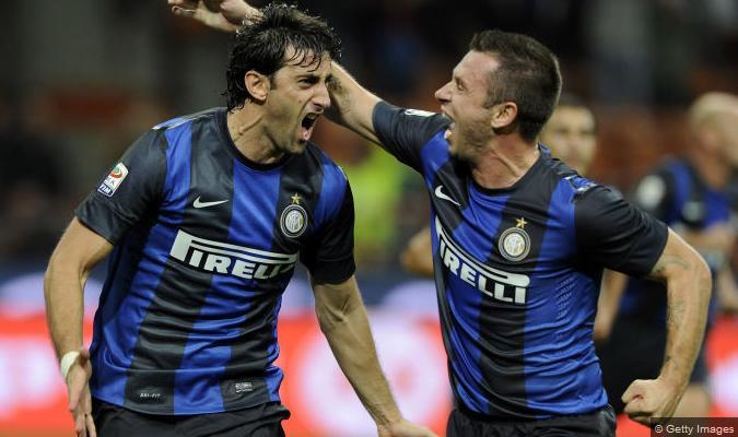 Inter-Fiorentina 2-1: Milito e Cassano giustiziano la Viola