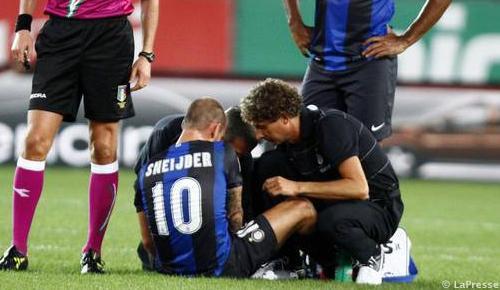 Sneijder, il derby è utopia. Palacio invece...