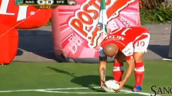 VIDEO - Omar Perez, un gol straordinario direttamente da calcio d'angolo