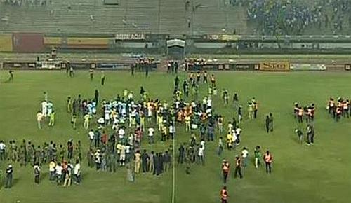 Paura durante Senegal-Costa d'Avorio: match sospeso per colpa di...