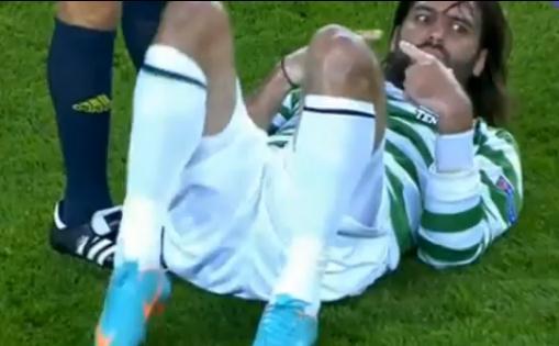 VIDEO - Barcellona vs Celtic: brutto infortunio per Samaras
