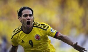 Colombia-Paraguay Radamel Falcao