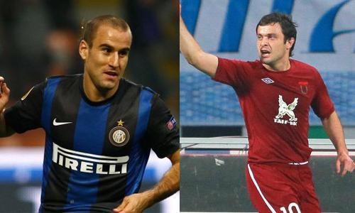Europa League: il Rubin batte il Neftçi e tiene il passo dell'Inter. Girone spezzato in due...