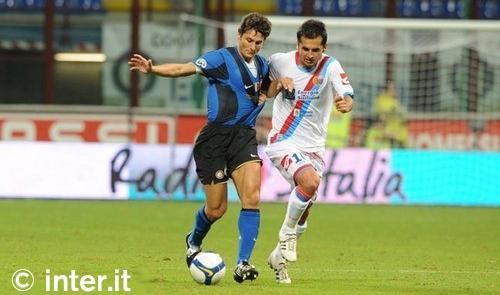 Inter-Catania, i precedenti
