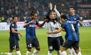 Milan-Inter festeggiamenti derby