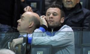 Antonio Cassano tribuna Tardini