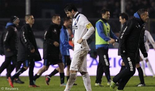 Atalanta-Inter 3-2: Bonaventura e Denis giustiziano un'Inter incerottata