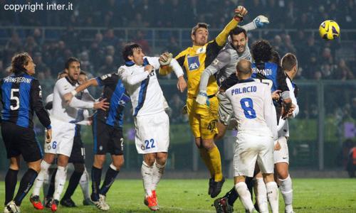 Tanto cuore non basta: dopo dieci vittorie, l'Inter cade a Bergamo