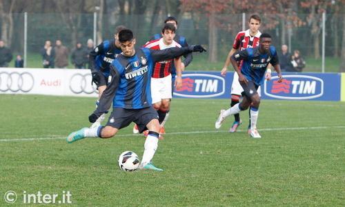 Primavera: l'Inter agguanta il pareggio in extremis. Il primo derby della stagione termina 1-1