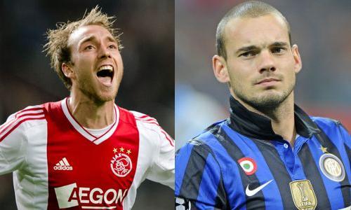 Sneijder ed Eriksen, tra presente e futuro