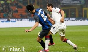 Inter-Cagliari rigore Ranocchia 2
