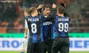 Inter-Sampdoria Cassano Palacio Milito