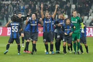 Juventus-Inter esultanza squadra