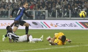Juventus-Inter, gol Palacio
