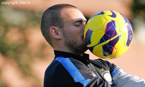 Terminato l'incontro tra l'Inter e Sneijder. Ecco il riassunto della giornata...