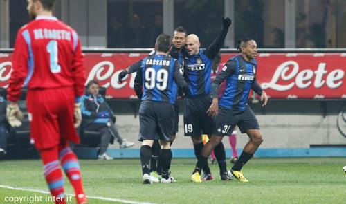 Inter-Napoli 2-1: nerazzurri di nuovo secondi
