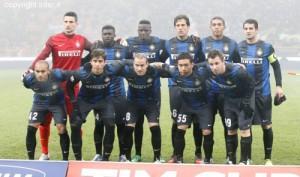 Inter-Verona Coppa Italia foto squadra