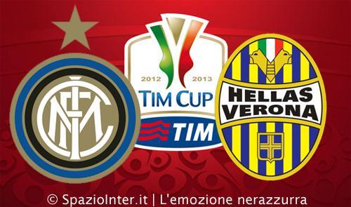 Tim Cup: L'Inter batte 2 a 0 il Verona e accede ai quarti