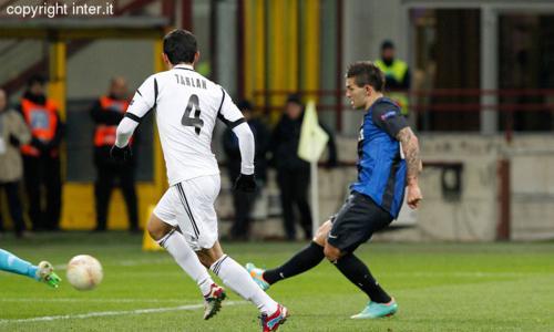 Inter-Neftçi 2-2: i nerazzurri chiudono al secondo posto il Girone H di Europa League