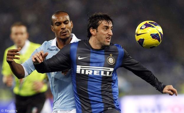 Lazio-Inter 1-0: Klose segna, Cassano e Guarin si fermano al palo