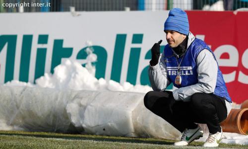 Appiano: Inter subito in campo per preparare la sfida di Tim Cup contro il Verona