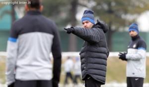 Stramaccioni rifinitura Inter-Genoa