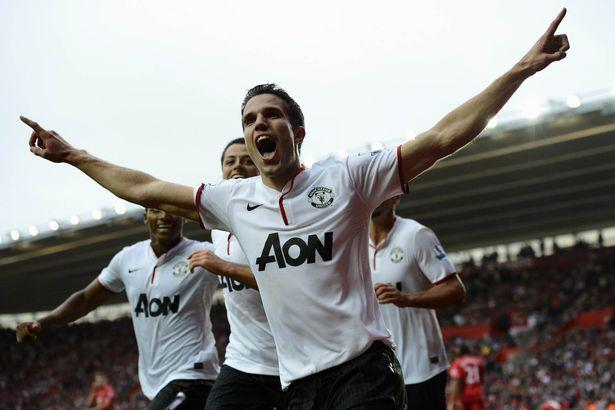 Van Persie, City-United 2-3