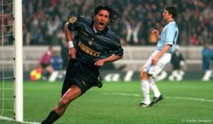 Zamorano Inter-Lazio Parigi 1998