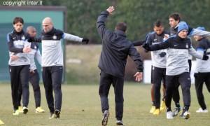 15 allenamento Inter 10012013
