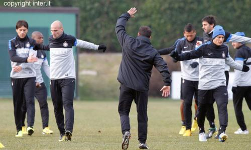PHOTOGALLERY: nerazzurri al lavoro verso Inter-Pescara. E in campo si rivede...