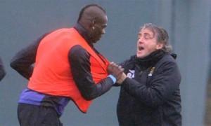 Balotelli Mancini lite
