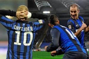Fotomontaggio addio Sneijder Roma-Inter