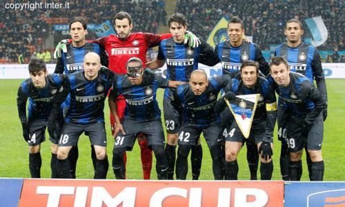 Inter-Bologna 3-2 foto squadra Coppa Italia