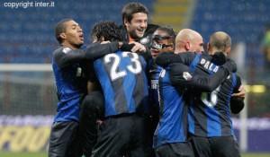 Inter-Bologna Tim Cup esultanza
