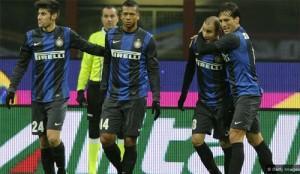 Inter-Pescara esultanza