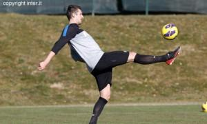 Kuzmanovic allenamento Inter (2)