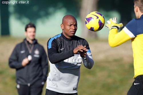 Verso Inter-Pescara: primo allenamento ad Appiano. Mudingayi torna in gruppo...