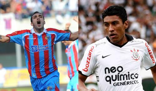 Il Catania tiene duro su Lodi. Se parte Sneijder l'Inter può tornare su Paulinho