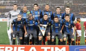 Roma-Inter 1-1 foto squadra