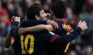Barcellona-Getafe 6-1