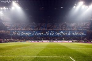 Inter coreografia derby Inter-Milan 24 febbraio 2013