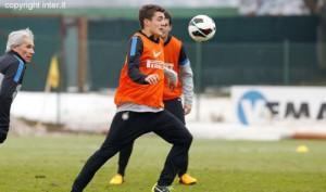 Kovacic allenamento verso Catania-Inter