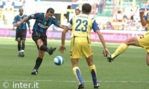 Luis Figo Inter-Chievo